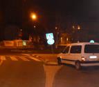 Dos accidentes por salidas de vía en Pamplona