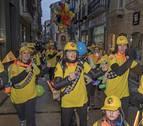 El comercio de Estella se suma a la fiesta de un carnaval muy callejero