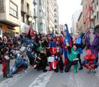 El espíritu del Carnaval se apodera de Tudela