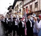 La lluvia ahoga los carnavales en Bera