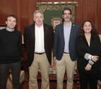 Asiron se reúne con el alcalde de San Sebastián y concejales de Barcelona y Zaragoza