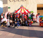 El Circo triunfa en el Carnaval de Ribaforada