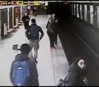 El héroe adolescente que salvó a un niño que se había caído a las vías del metro