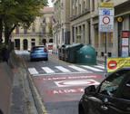 El tráfico por el Casco Antiguo de Pamplona desciende un 53% con el control de accesos
