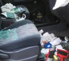 Las cámaras del concejo de Artica no grabaron los destrozos en 43 coches