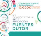 12.000 euros para un proyecto de investigación innovador