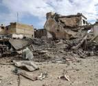 Mueren 106 personas en bombardeos en las afueras de Damasco