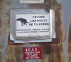 Los vecinos de la calles Aralar, Gorriti y Castillo de Maya, hartos de conductas incívicas