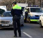 41 denuncias  en pasos de peatones en Pamplona