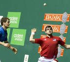 Ezkurdia y Zabaleta cogen carrerilla para semifinales del Parejas