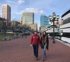 Alejandro y Laura, un ingeniero y una abogada pamploneses en Baltimore