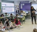 Profesionales de Diario de Navarra imparten un taller en el colegio Catalina de Foix