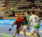 El Helvetia cae frente a un sólido Huesca y un eficaz Jorge Gómez