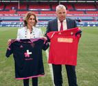 Osasuna presenta a Euskaltel y anuncia una equipación nueva contra el Cádiz