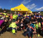 Voluntarios en la Javierada: gente de buena voluntad