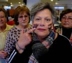 Pensionistas navarros llevan sus reivindicaciones al Parlamento foral