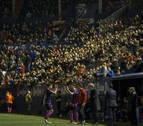 Pese a la victoria de Osasuna, volvieron a escucharse silbidos en El Sadar