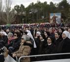 La Misa del Peregrino alienta a una concurrencia irregular de fieles