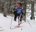 "Irati Cuadrado, esquiadora navarra: ""Me voy acercando a mis rivales"""