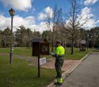 La Cuenca de Pamplona instala dos buzones de libros para 'bookcrossing'