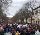 Paros y movilizaciones en Navarra por una huelga feminista histórica