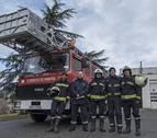 Los traslados sanitarios, la principal intervención del parque de bomberos de Estella