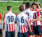 El Izarra cae duramente ante el Bilbao Athletic
