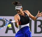 Muguruza es eliminada de Indian Wells en segunda ronda