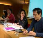 Asamblea en Tudela de los parlamentarios críticos con la dirección de Podemos