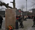 La ausencia de víctimas de ETA  marca el homenaje del Gobierno foral