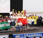El equipo navarro FSINGENIUMgana la fase nacional de la First Lego League