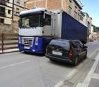 Denuncian la peligrosidad  de la carretera que atraviesa Funes