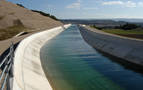 Agricultores de Peralta, molestos por la paralización de las obras del Canal de Navarra