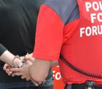 Detenido en Arróniz por romper un vaso en la cara a otra persona