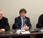 Puigdemont reúne a su grupo parlamentario en Bruselas para analizar escenarios