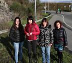 Movilizadas para tener una salida peatonal segura en Orkoien