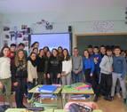 El colegio del Puy de Estella destina a una escuela de Honduras una acción solidaria
