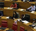 Aznárez y Buil no barajan que Podemos se rompa ni perder la Presidencia del Parlamento