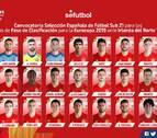 Mikel Merino, convocado para los próximos dos partidos de la Sub-21