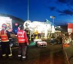 Muere un camionero de Sarriguren en la AP-15, en Muruarte de Reta