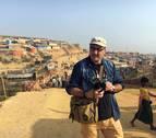 El fotógrafo gallego Pedro Armestre viaja a un campo de refugiados en Bangladesh