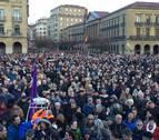 Así les hemos contado la manifestación en Pamplona por unas pensiones dignas