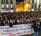"""La Ribera exige """"dignidad"""" con las pensiones"""