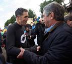 Miguel Induráin y Óscar Freire vuelven al pelotón por un día