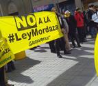 Pamplona se suma a las movilizaciones a favor de derogar la Ley Mordaza