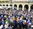 Mas de trescientos jubilados se concentraron en Tafalla por una jubilación digna