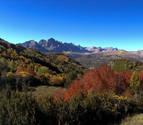Rescatado un montañero de Pamplona al caerse en un barranco en Huesca