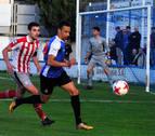 Discutido triunfo del Barakaldo en Tafalla contra la Peña Sport