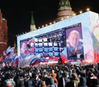 Putin logra un nuevo sexenio con más del 76% de los votos