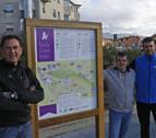 Colectivos de Noáin, unidos por la senda del Dravet